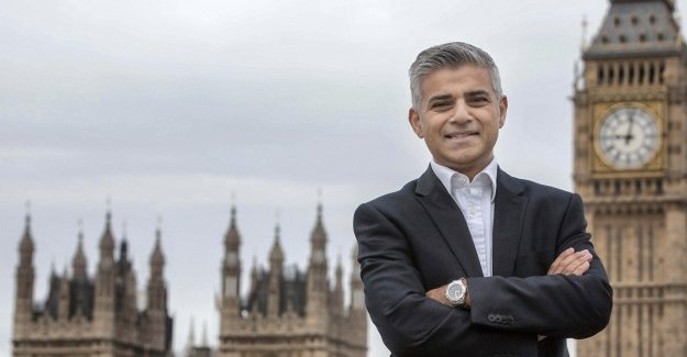 Sadiq Khan elected mayor of London