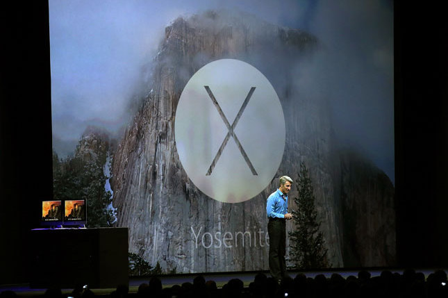 APPLE UNVEILS NEW OPERATING SYSTEM 'YOSEMITE', ANNOUNCES IOS 8