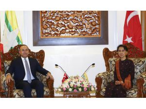 UPDATE - Cavusoglu stresses Turkey aims to help 'all' in Myanmar