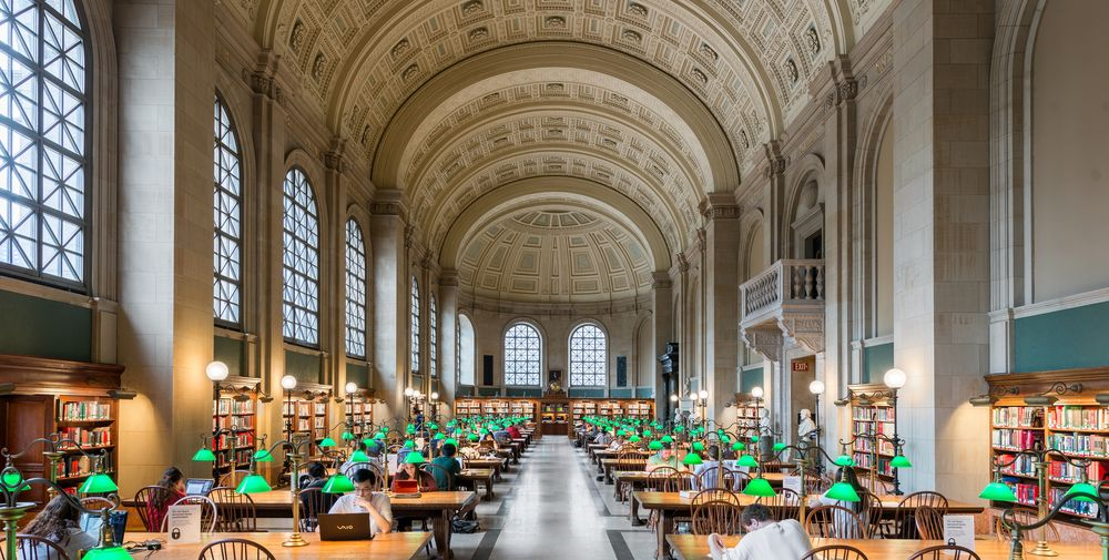 The 19 most beautiful libraries in the U.S.