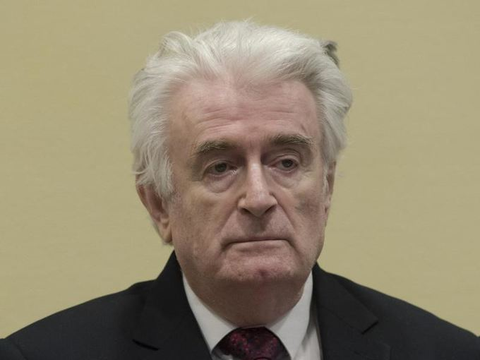 Karadzic gets life in prison for genocide, war crimes