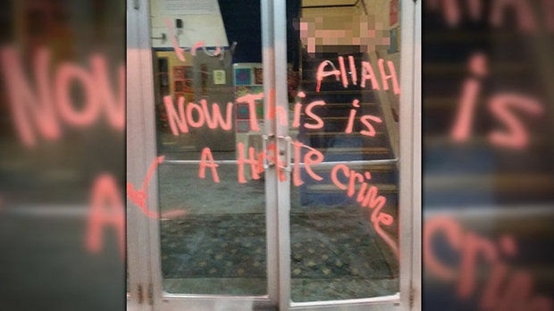 FBI INVESTIGATING ISLAMIC SCHOOL VANDALIZED