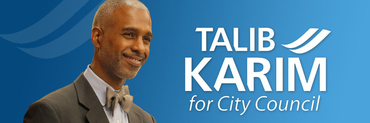 Talip Karim is running for city council