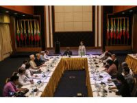 Suu Kyi underlines Rakhine int'l problem at 1st meet
