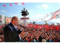 With 1 week until referendum, Erdogan stumps in Izmir