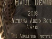 Halil Demir received the Aichana Abeid Boilil award