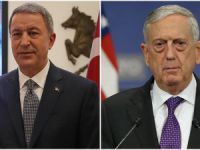 Turkish, American defense chiefs talk over phone