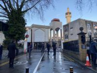Knifeman stabs prayer leader in neck at London mosque