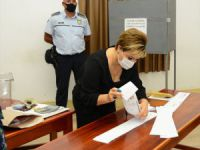 UPDATE - Voting for presidential election in Turkish Cyprus ends